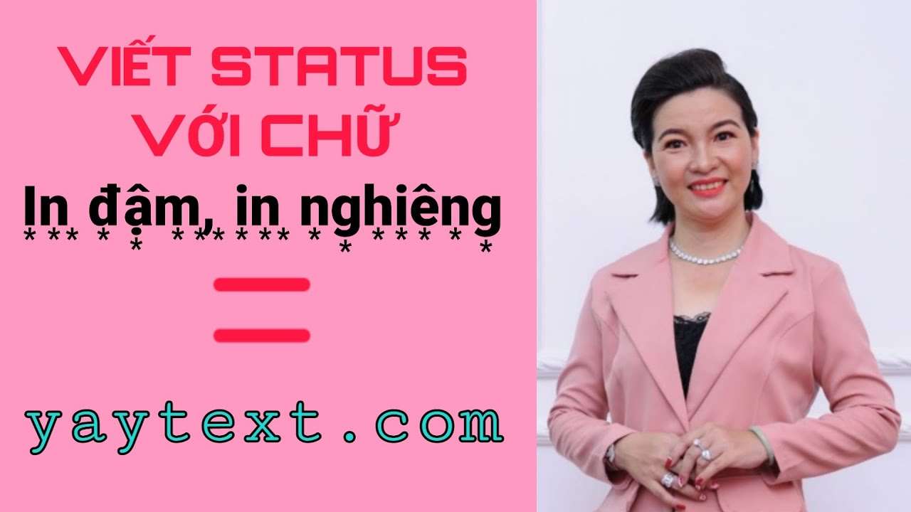 Hướng Dẫn Viết Status Chữ In đậm In Nghieng Bằng Yaytext Com Youtube Over the time it has been ranked as high as 12 081 in the world, while most of its traffic comes from india, where it reached as high as 3 989 position. youtube