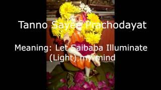 Shirdi SAIBABA Gayatri mantra 48 times
