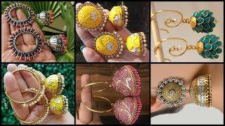 Latest Stylish Jhumka Earrings Designs/Trending Traditional Jhumka Earrings