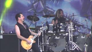 Riot V - Swords And Tequila & Thundersteel Live @ Sweden Rock Festival 2015