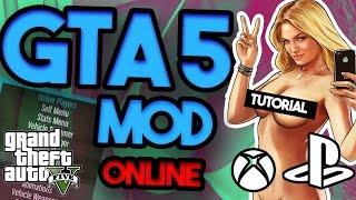 GTA 5 ONLINE MOD - how to install - Tutorial - XBOX, Ps3,Ps4 money drop MOD MENU (April 2017!),
