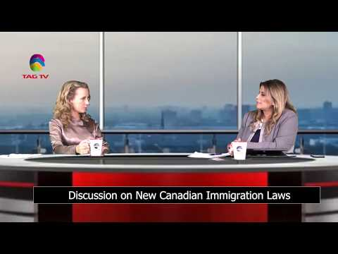 Discussion on New Canadian Immigration Laws in Power Dilemma with Sarah Bokhari @TAG TV