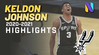 Keldon Johnson San Antonio Spurs 2020-21 Season Highlights