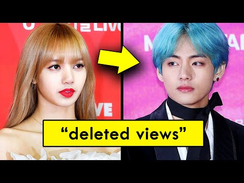 Why  Deleted Views on BTS's   but not Blackpink's