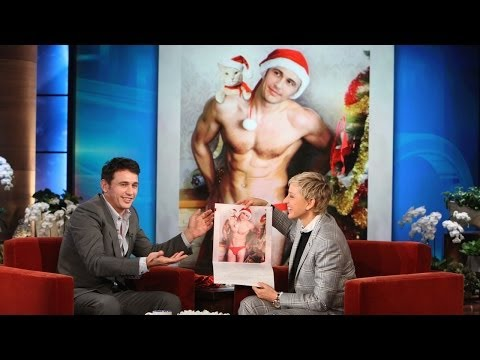Download Youtube: James Franco and His Cat Calendar