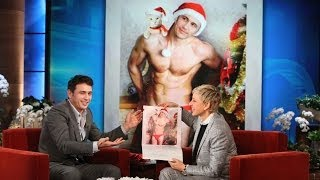 Repeat youtube video James Franco and His Cat Calendar