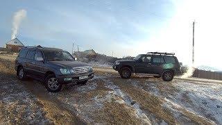 Nissan Safari vs Lexus LX 470. Кто лучше?