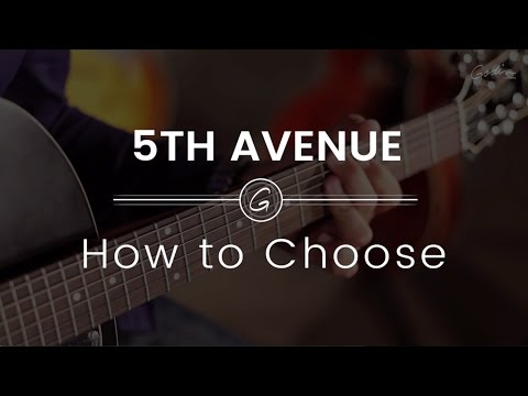 Godin Guitars 5th Avenue models - HOW TO CHOOSE