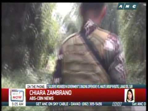 News Now: Army presses offensive in Maute-held Lanao town