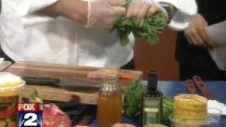 05-10-2011 Chef Pete On Fox2 - Roasted Hawaiian Purple Sweet Potatoes