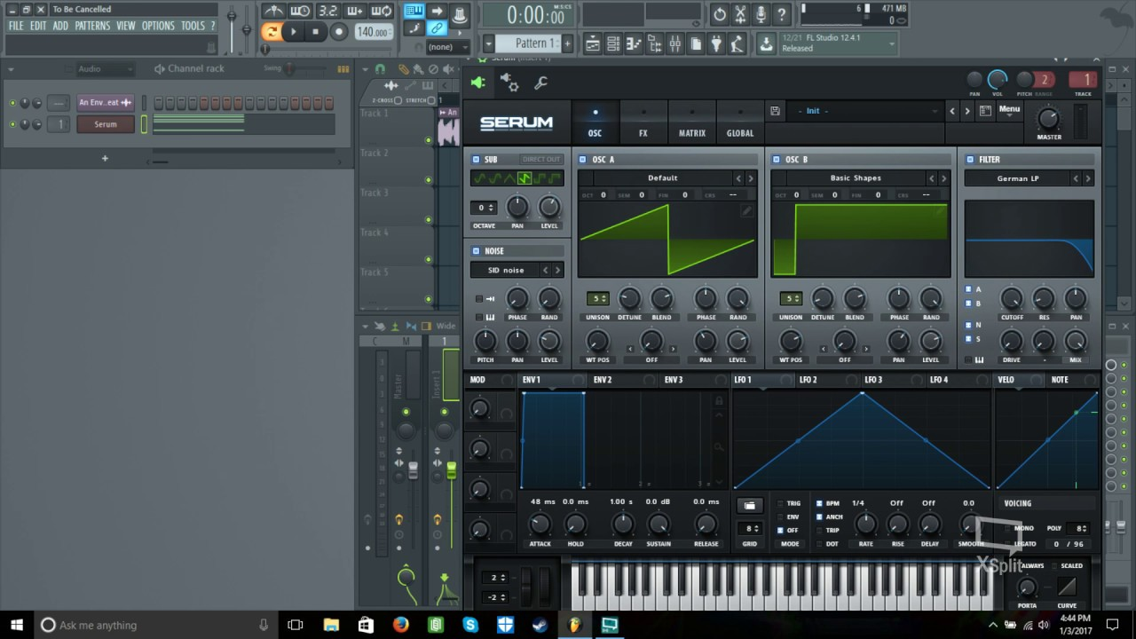 fl studio 12 serum