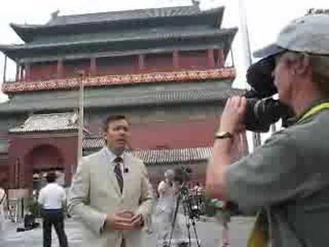 Media circus in Beijing