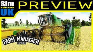 Farm Manager 2018 Tutorial + Introduction part 1of2 Gameplay Preview