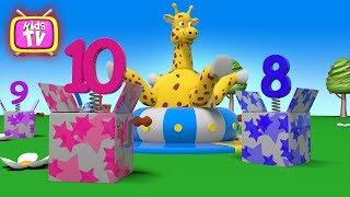 Cartoon für Kinder - zahlen Lernen mit Spielzeug