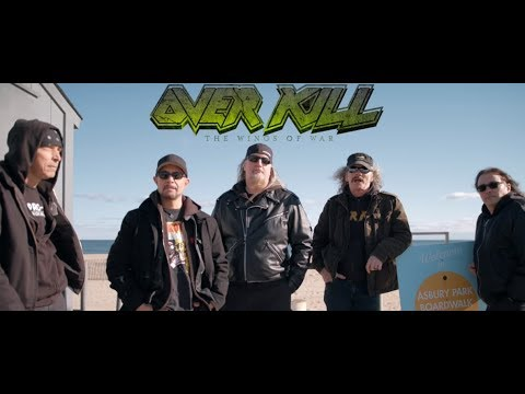 Overkill debut pre-order video for new album The Wings Of War ..!