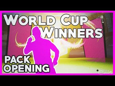 PADL MI MISTR SVĚTA! | WORLD CUP WINNERS PACK OPENING!