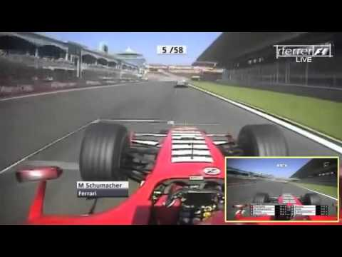 Michael Schumacher vs Alonso Istanbul Park Onboard F1 2006 by magistar