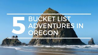 5 BUCKET LIST ADVEΝTURES in OREGON | Oregon RV Travel Crater Lake National Park to the Oregon Coast