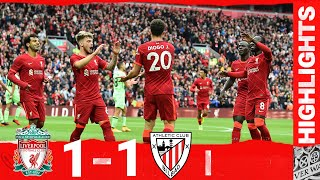 Highlights: Liverpool v Athletic Club   Jota scores in front of the fans