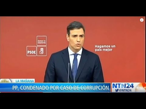 PSOE presentó una moción de censura contra Mariano Rajoy