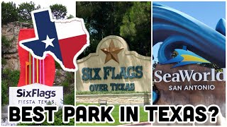 Amusement Parks In Texas