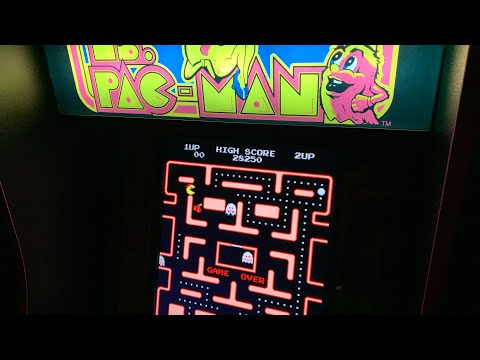 MS PAC-MAN - CHASING THAT HIGH SCORE! Arcade1up from The 3rd Floor Arcade with Jason