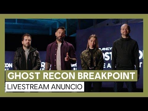GHOST RECON BREAKPOINT Livestream Anuncio