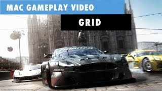 Grid Mac Gameplay