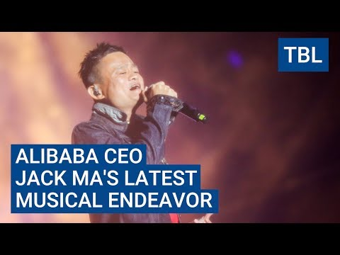 Watch billionaire Jack Ma sing his heart out during a surprise performance at a music festival