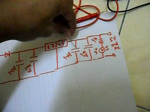 Simple DC Voltage Regulator 12V to 5V [ Something YOU can DO