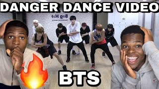 BTS - 방탄소년단 DANGER DANCE PRACTICE REACTION/REVIEW