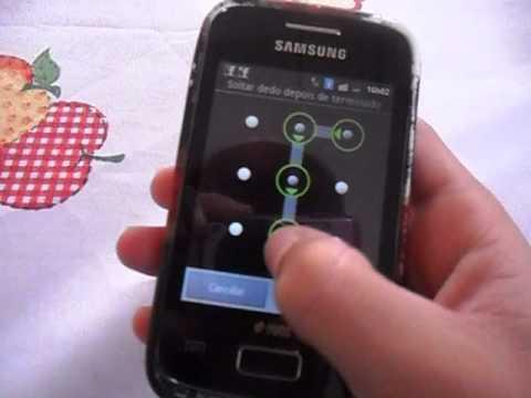 Como fazer senhas legais para seu android samsung galaxy y