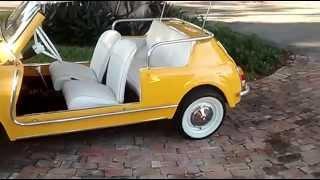 Custom 1969 Fiat 500 Jolly Showcar