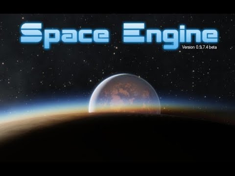Space Engine Titan, Gas Giant, BLACK HOLE