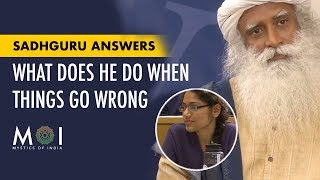 A Girl Asks Sadhguru - What Do You Do When Things Don't Happen The Way You Want | Mystics of India