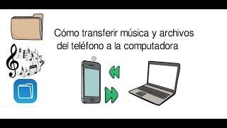 Como pasar musica de pc a celular