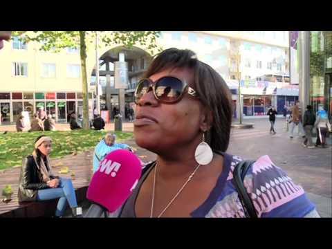 Mensen in Amsterdam Zuidoost zijn dik