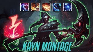 Kayn Montage #1 - Best Kayn Plays 2019 #800k  #zegabon