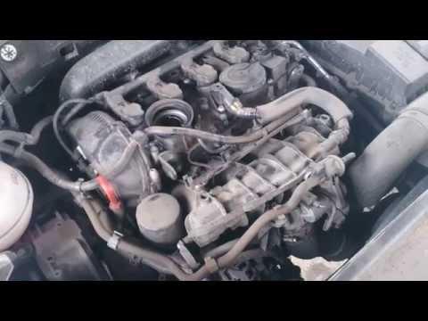 замена масла в VW passat b7 1.8 tsi двигатель cdab 2012