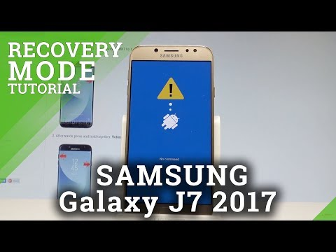 How To Boot Into Recovery Mode In SAMSUNG Galaxy J7 2017 |HardReset.info