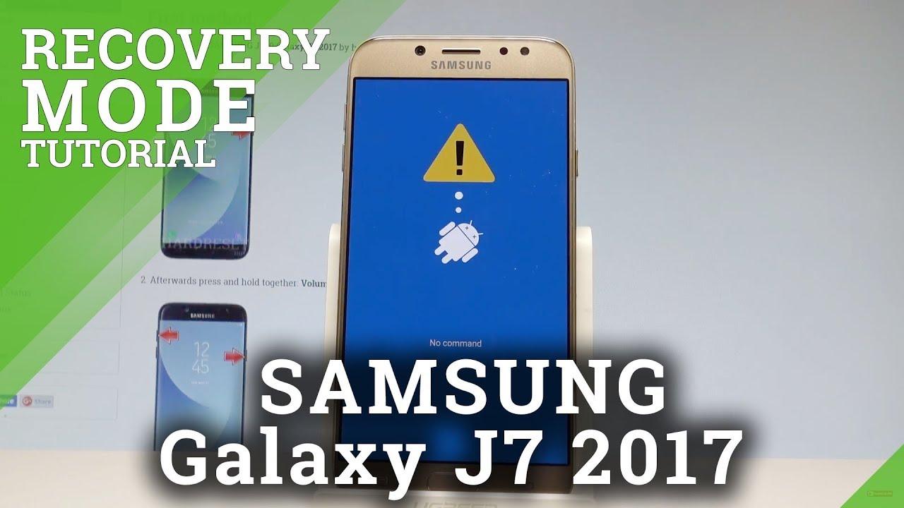 Recovery Mode SAMSUNG Galaxy J7 Prime - HardReset info
