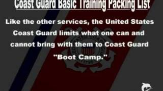 USCG Boot Camp , Basic Packing List  /  by Tom Hough /  SPAR WLB-403