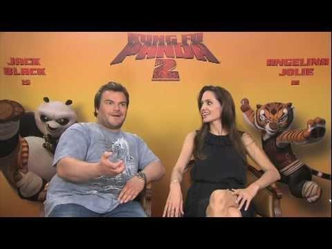 KUNG FU PANDA 2 Interviews - Angelina Jolie, Jack Black, Dustin Hoffman - CANNES Film Festival