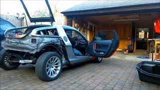 Smart Roadster EV conversion - First drive