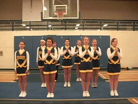 6023d337c0a Cheerleading 101 - basketball cheers - YouTube