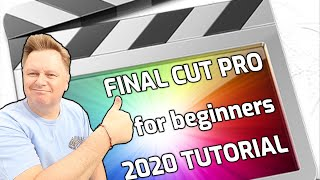 How to begin EDITING with FINAL CUT PRO 2020: Never used it before TUTORIAL
