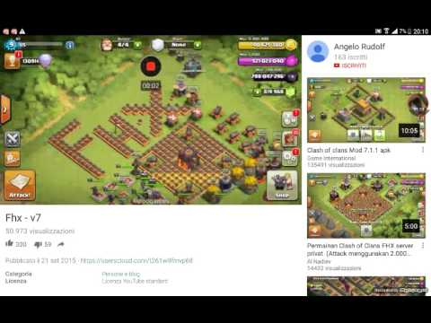 clash of clans truccato