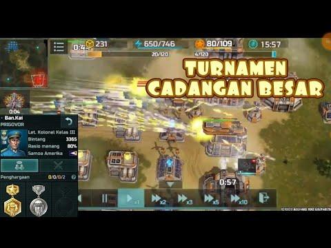 Turnamen Cadangan Besar | Smart Battle Tactic | vs Bingkai | Confederation | AOW3 Art Of War 3