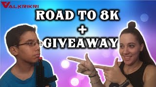 🔴ROAD TO 8K +GIVEAWAY🔴FORTNITE SAC:VKK-VALANTAKOS