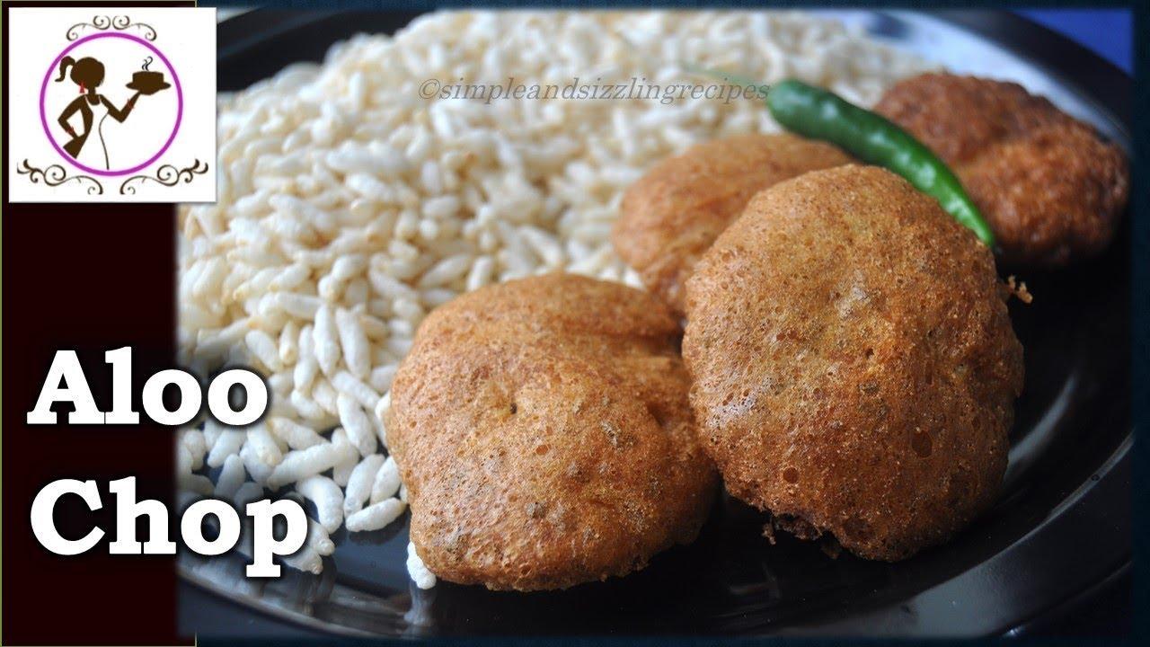 alur chop recipe video Alur Chop  Bengali Aloo Chop Recipe  Popular Street Food  Easy Indian  Snack Recipe